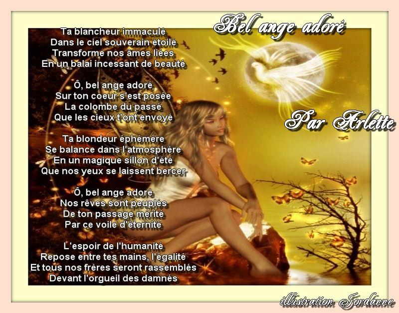Bel ange adoré
